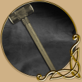 LARP Weapon Sledgehammer Short